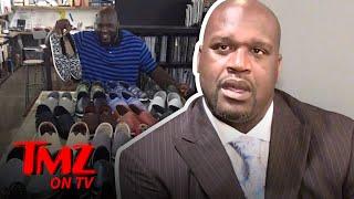Shaquille O'Neal Explains His Gnarley Feet | TMZ TV