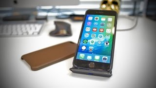 iPhone 6 Plus leather cases and wireless charging!