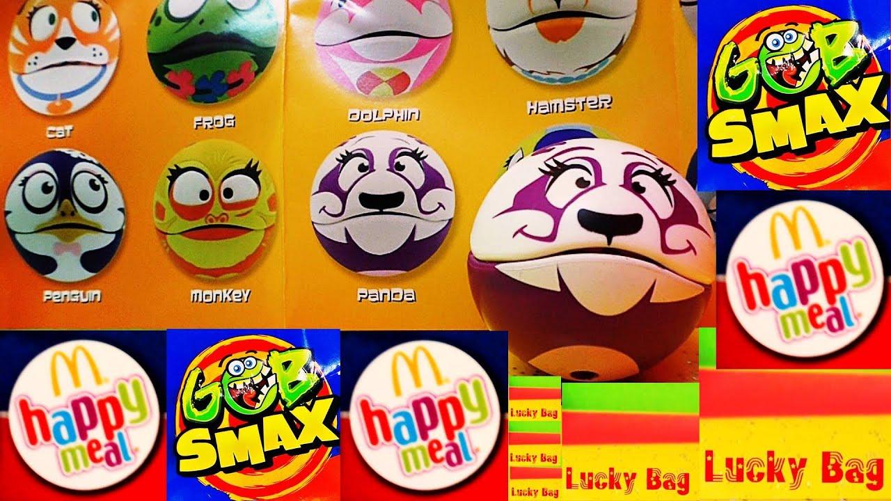 HAPPY MEAL GOBsmax McDonalds SURPRISE unBOXing Panda Lucky Bag ...