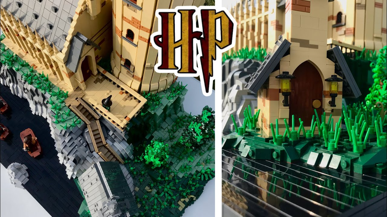 Download HUGE Lego Harry Potter GREAT HALL MOC // Lego Ideas Contest Entry