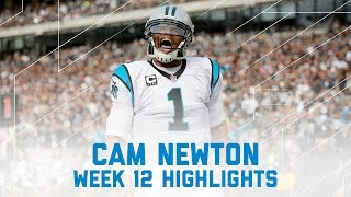 Cam Newton's 3 TD Day!  | Panthers vs. Raiders | NFL Week 12 Player Highlights