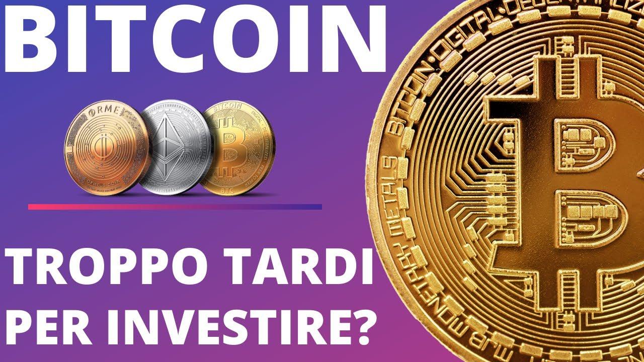 commerciante di giorno di valuta digitale bitcoin è troppo tardi per investire