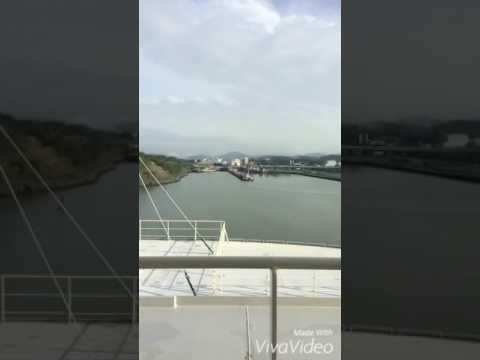 Panama Canal transit in 2minutes