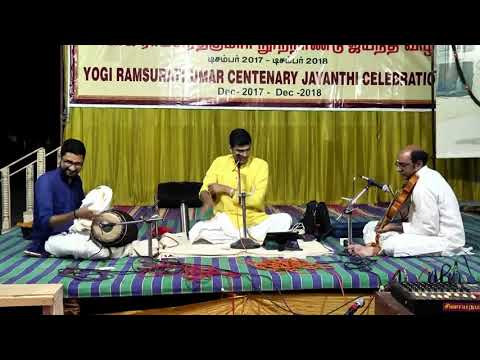Music Recital by Sikkil Gurucharan and Party on 4th Feb 2018