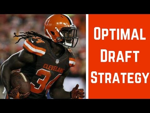 2017 Fantasy Football - The Best Draft Strategy For Standard Scoring