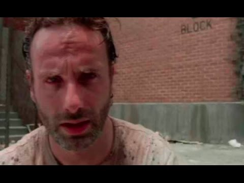 Rick finds out Carl bought Black Ops 3 instead of Halo 5