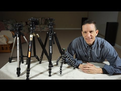 Entry Level Tripods - A Beginners Guide and Review