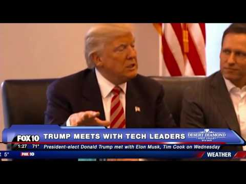 Thumbnail: MUST WATCH: Donald Trump Meets with Tech Leaders (FNN)