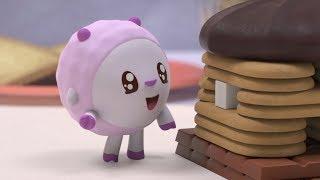 Малышарики   Сладкий дом   серия 128   Обучающие мультфильмы для малышей   о десертах