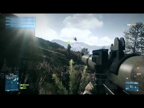Battlefield 3. RPG / SMAW Vs Jets / Helicopters (HD 1080p)