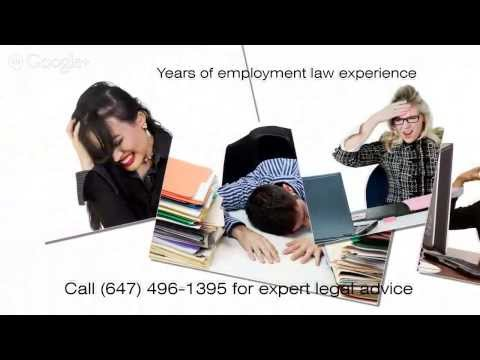 Lawyer for Constructive Dismissal In Toronto Ontario