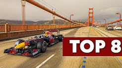 8 Unreal F1 Road Trips with @Aston Martin Red Bull Racing