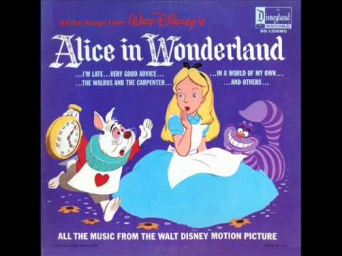 Alice in Wonderland - Alice in Wonderland, 'twas Brillig