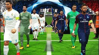 UEFA Champions League Final | PSG vs Real Madrid | PES 2017 Gameplay PC