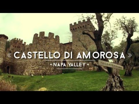 wine article Castello di Amorosa Napa Valley Winery