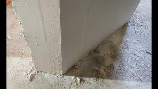 КАК штукатурить наружный угол 135 градусов штукатурка стен своими руками Видео Мастер Класс