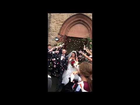 Real Flower Petal Confetti in action!