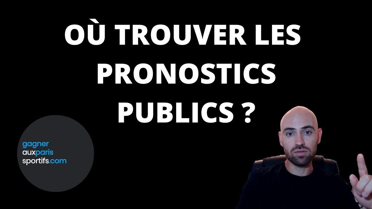 Où trouver les pronostics publics