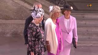 Hagasessan Birgitta nobbar inbjudan till prins Gabriel dop