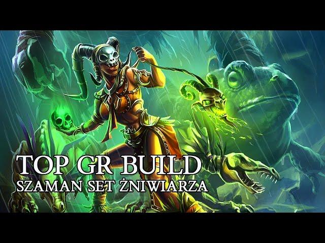 DIABLO 3 PL - SZAMAN TOP GR BUILD NEFRYTOWY ?NIWIARZ ( PATCH 2.4.2 )