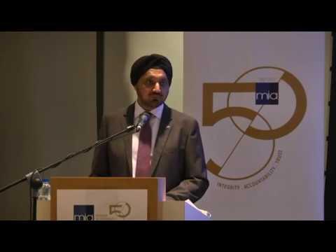 MIA 50th Anniversary Commemorative Lecture  by YBhg Tan Sri  Dato' Seri Ranjit Ajit Singh: Part 3