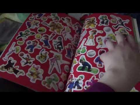 My Super Mario Official Sticker Book Review (RARE!)