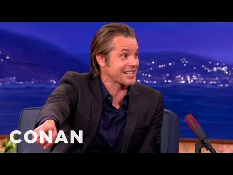Timothy Olyphant's Son Loves His