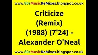 Criticize (Remix) - Alexander O