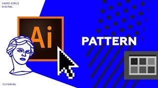 ПАТТЕРН / ОРНАМЕНТ / векторный паттерн за 5 минут | Adobe illustrator | Дизайн уроки ❤