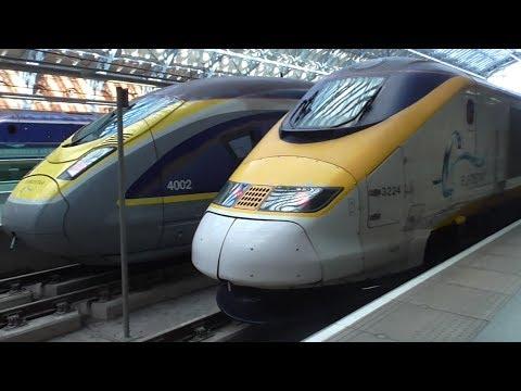 Eurostar Class 373 TGV TMST Ride: London St Pancras International to Brussels-South - 10/05/17