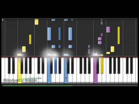 Naruto: Wind - Piano Tutorial (Synthesia)