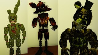 PLAY AS SPRINGTRAP AND PHANTOMS!! | [BETA] FNaF 3: Fazbear's Fright | Roblox