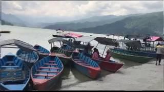 Tourism  place Phewa Lake ,Lakeside Pokhara Nepal