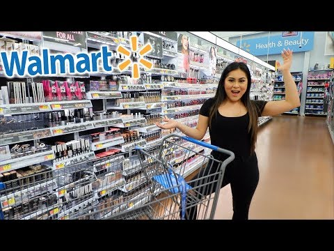 Shopping For NEW DRUGSTORE MAKEUP at WALMART HAUL! OMG