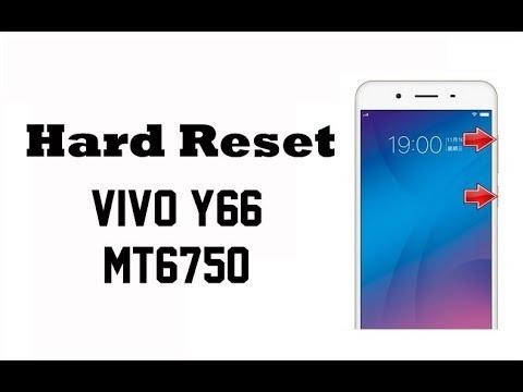 Hard Reset VIVO Y66 MT6750