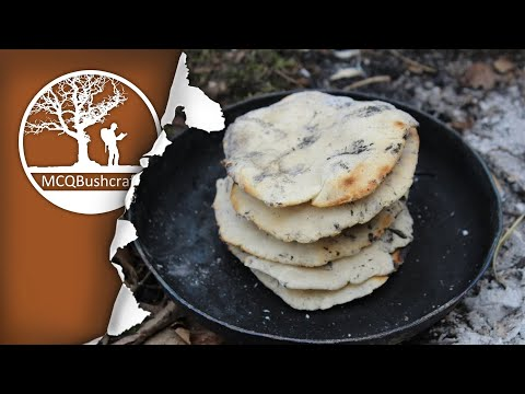 Bushcraft Camping & Cooking Flatbreads (Gluten Free!)