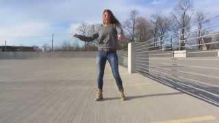 Вольный танец в стиле dubstep