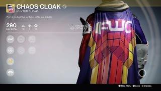 """Destiny: FUTURE WAR CULT (Level 25) """"Chaos Cloak"""" Exotic Quest WALK THROUGH (Hunter)"""