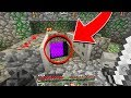 STRANGE Portal in Minecraft That I Did NOT Create...