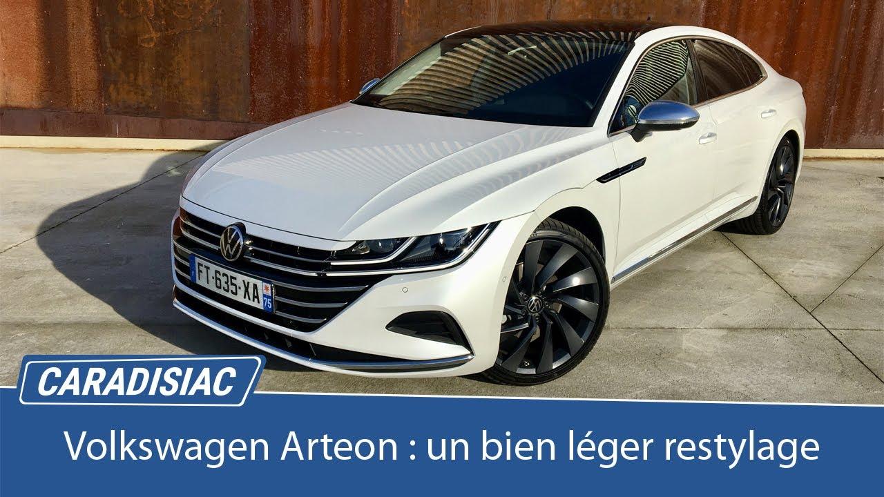 Download Essai - Volkswagen Arteon 2020 : un bien léger restylage