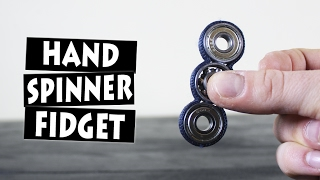 DIY Paracord Hand Spinner Fidget Toy