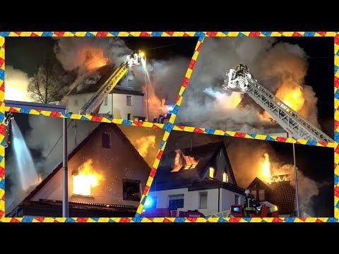 ++ MEHRERE DURCHZÜNDUNGEN ++ [2 Häuser brennen lichterloh] - GROSSBRAND - FLAMMEN - (ausf. DOKU) [E]
