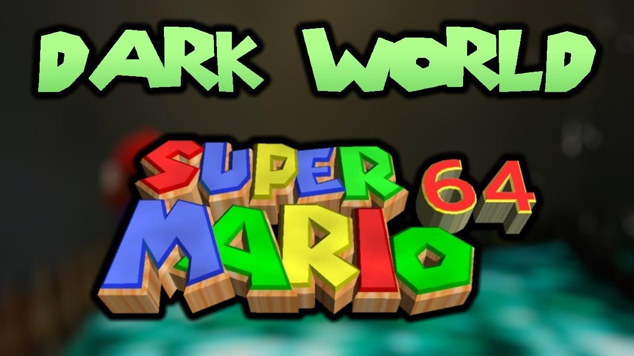 Bowser In The Dark World Super Mario 64 Remastered