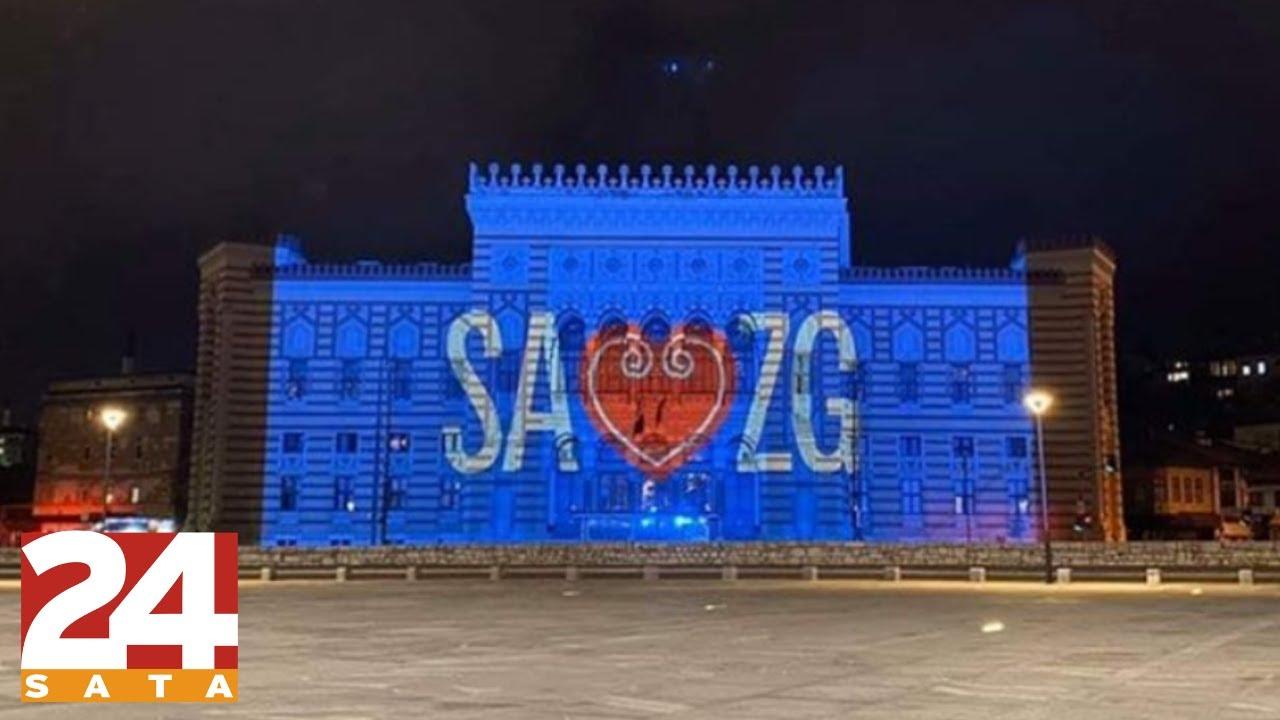 Sarajevo I Beograd Zapljeskali Za Zagreb Youtube