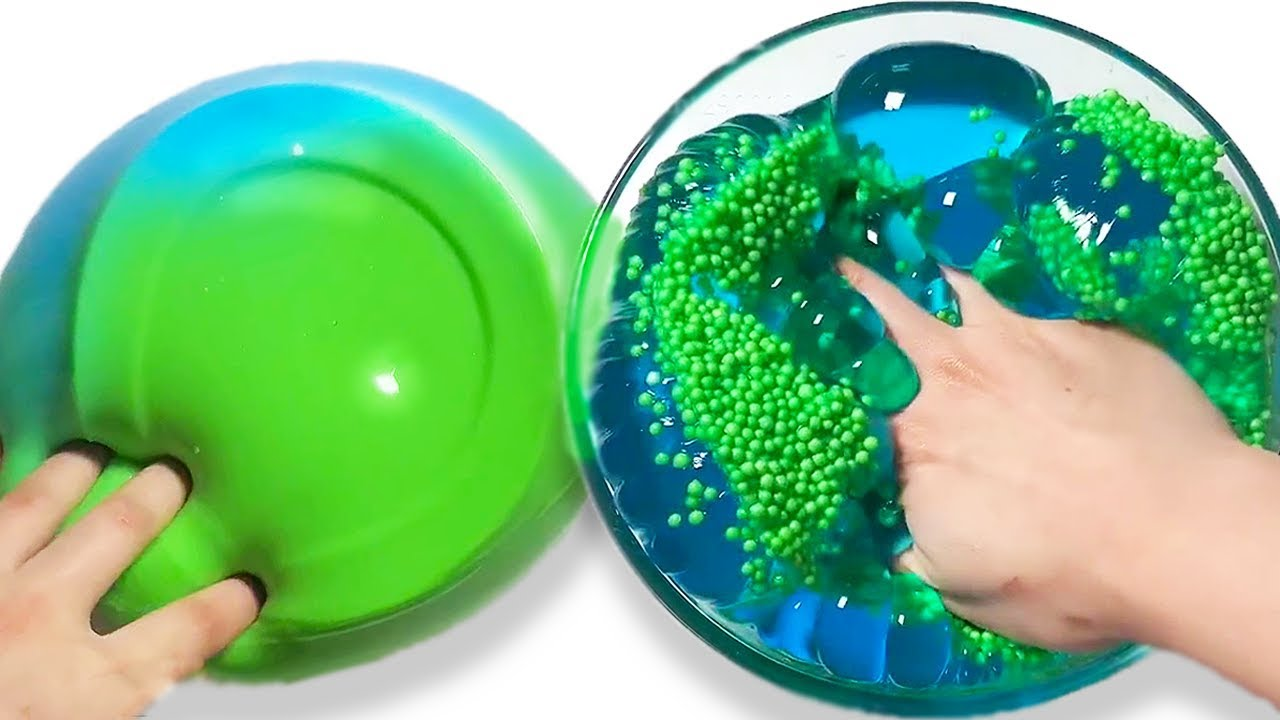 The Most Satisfying Slime ASMR Videos   Relaxing Oddly ...