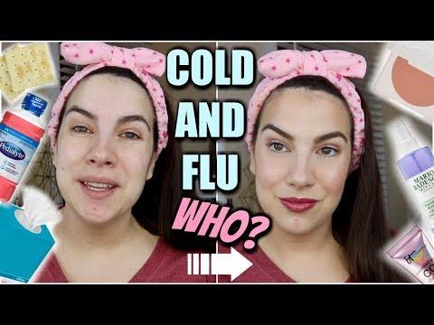 COLD & FLU COMEBACK MAKEUP TUTORIAL