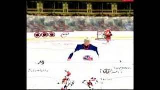 NHL FaceOff 2001 PlayStation Gameplay