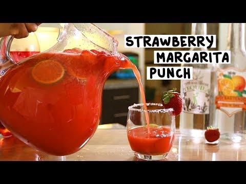 Strawberry Margarita Punch