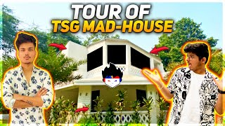 WELCOME TO MAD HOUSE - FULL HOUSE TOUR WITH TSG MEMBERS || VLOG 2
