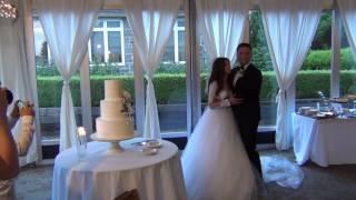Свадьба Даника и Нэлли , жених поёт для невесты